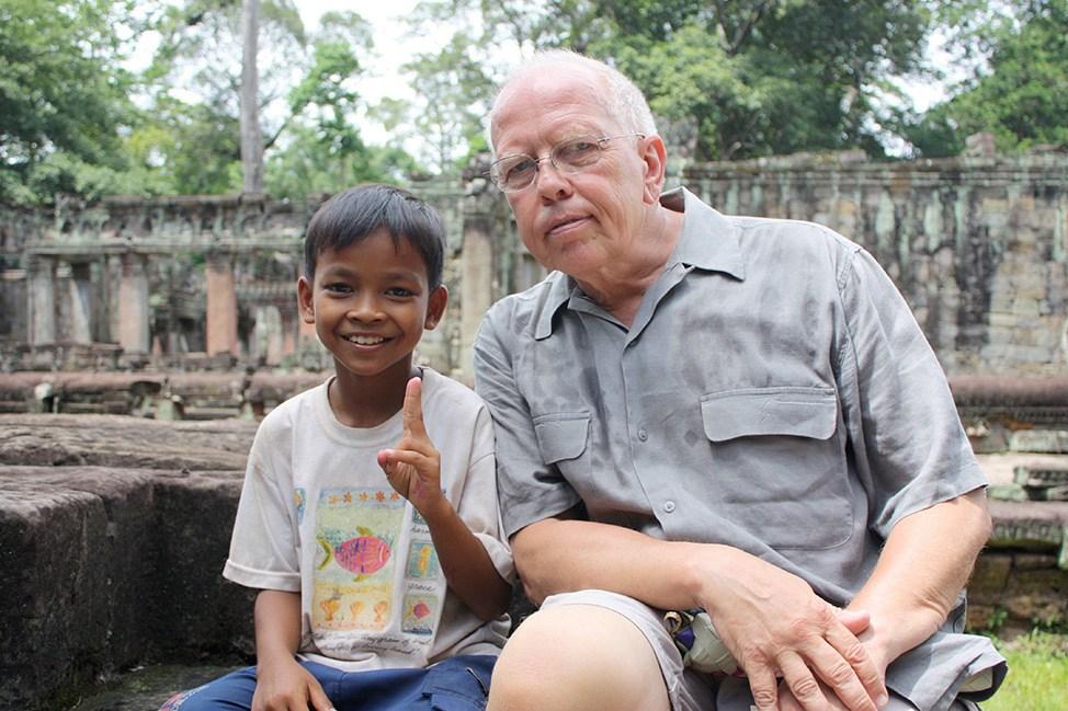 Preah Kahn child
