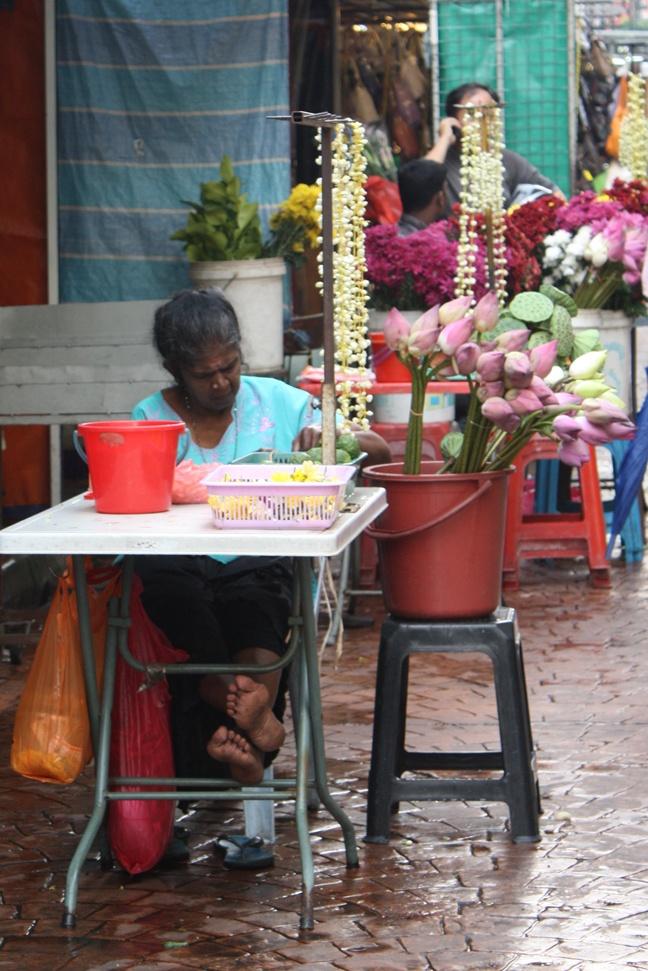 Kuala Lumpur Flower Market