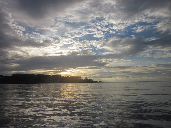 Roatan, Honduras sunset