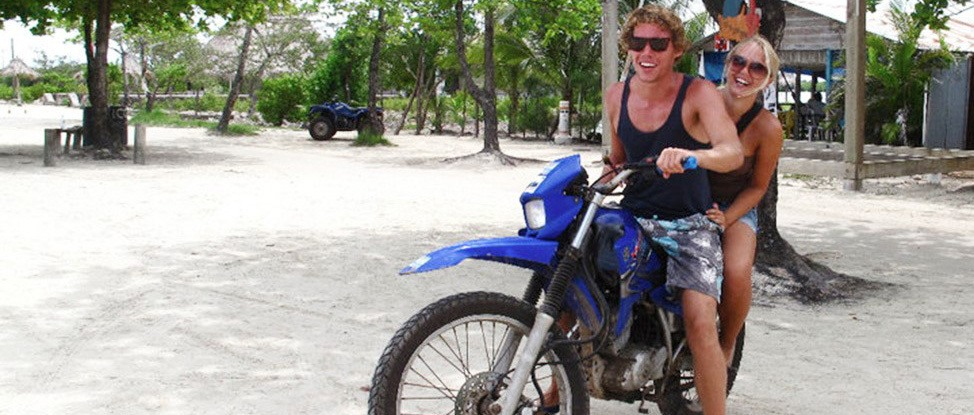 Utila by Motorcycle: Two Wheels are Better Than Two Feet thumbnail