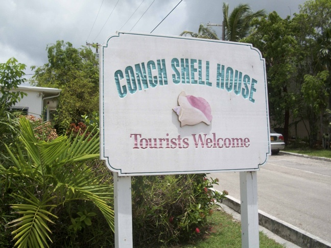 Cayman Conch Shell House