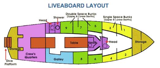 Liveaboard Layout