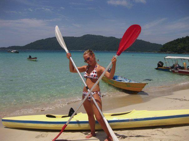 Kayaking Perhentian Islands