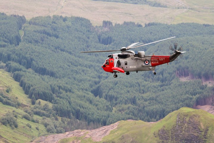 Rescue Helicopter Ben Nevis