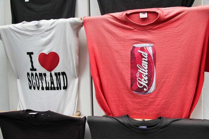 Scotland Coca Cola Shirt
