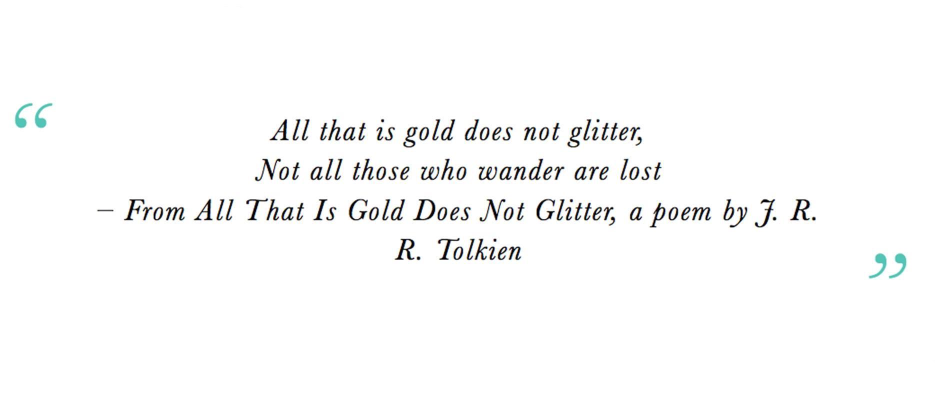 Travel Quotes: JRR Tolkien thumbnail