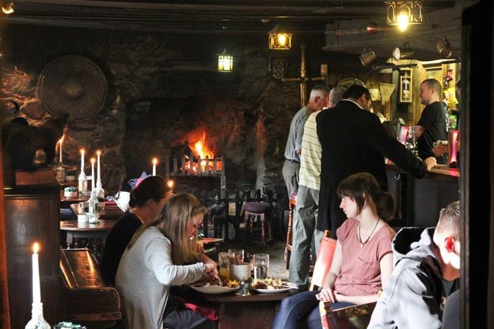 Dining in Scotland
