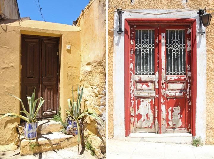 Athens doorways