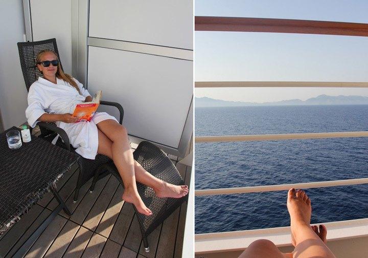 Silversea Silver Spirit Balcony