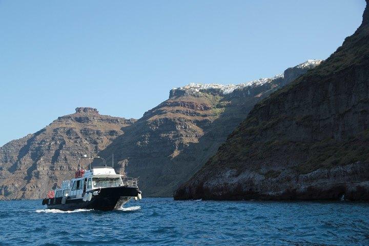 Santorini Cruise Ship Tender