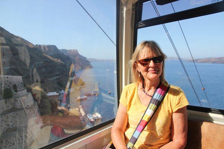 Santorini Funicular