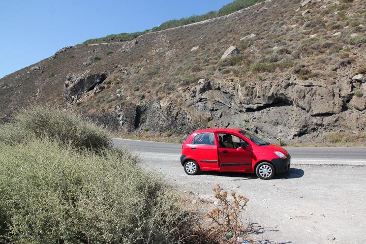Santorini Rental Car