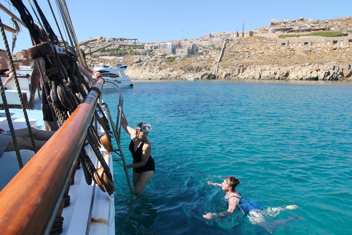 Mykonos Cruise Tour