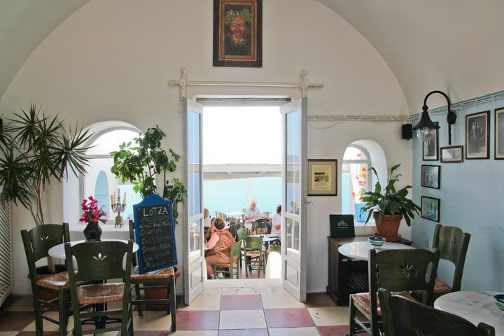 Oia restaurant
