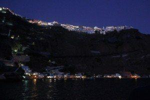 Fira at night