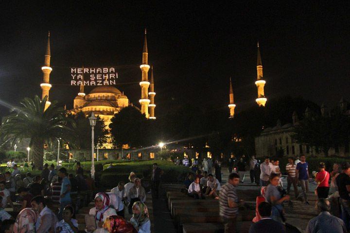 Blue Mosque Ramadan