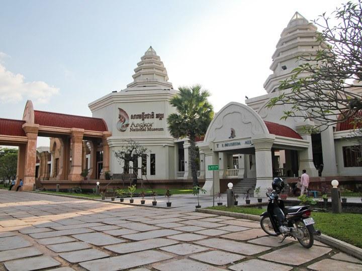 លទ្ធផលរូបភាពសម្រាប់ Angkor National Museum