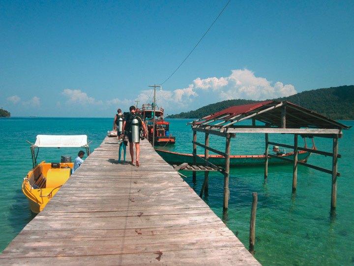 Diving Cambodia