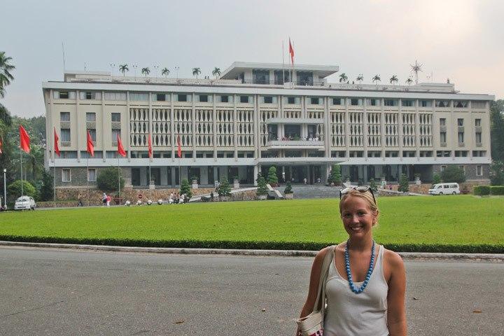 The Reunification Palace, Vietnam