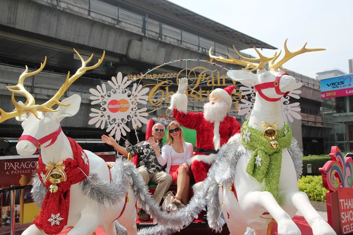 Bangkok Christmas Decorations