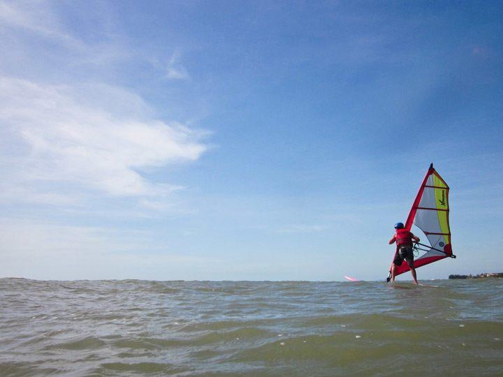 Windsurfing in Mui Ne