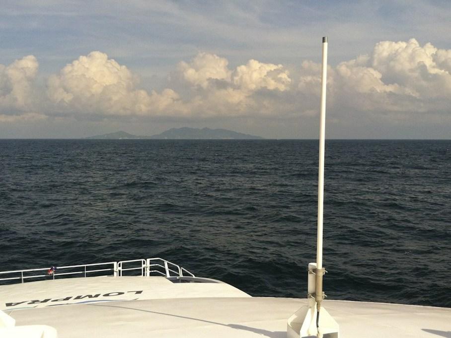 Ferry to Koh Tao