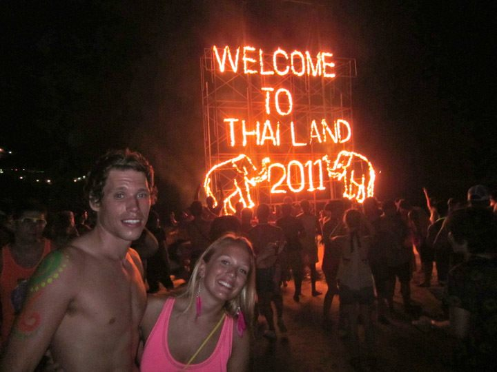 New Years Eve Full Moon Party