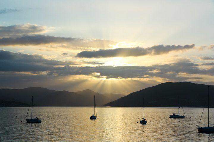 A Sunset in Scotland