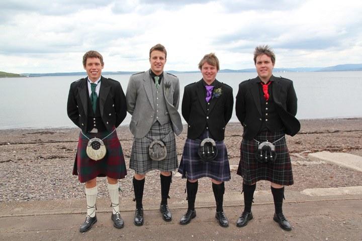 Men in Kilts, Scotland