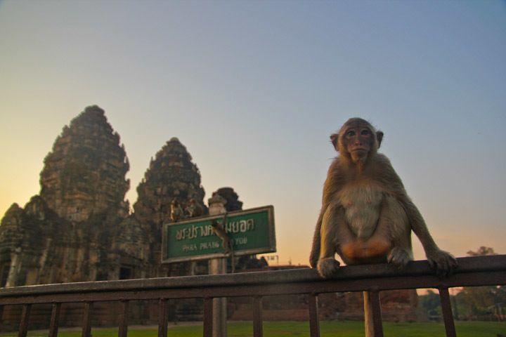 Prang Sam Yot Lopburi