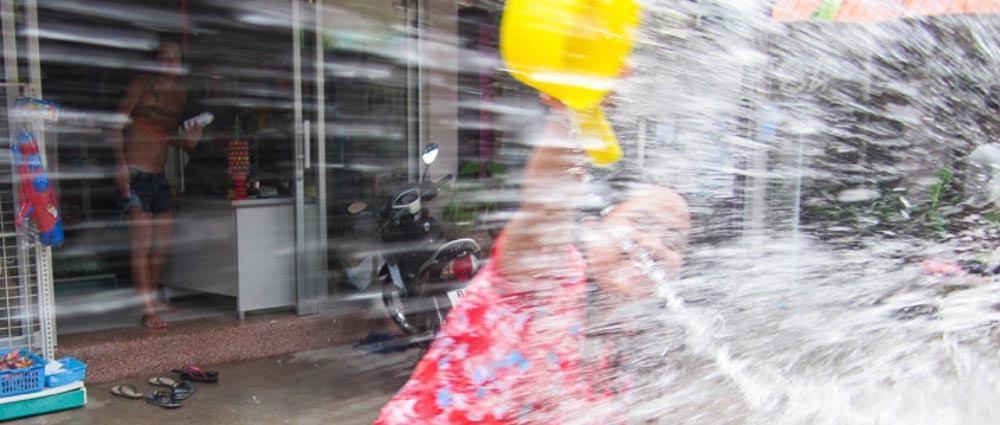 Celebrating My First Songkran thumbnail