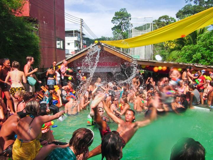 Songkran on Koh Tao