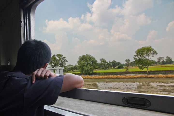 Thailand Train Travel