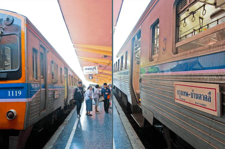 Thailand Train Travel
