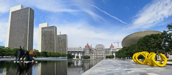 The Empire State Plaza