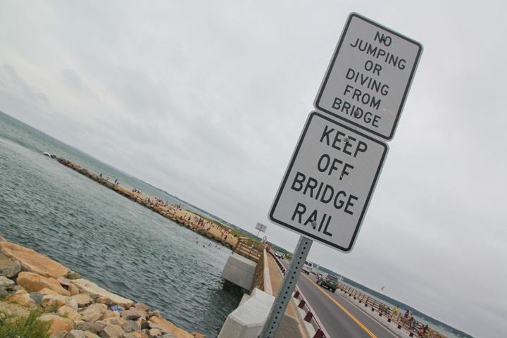 Martha's Vineyard Bridge Jump
