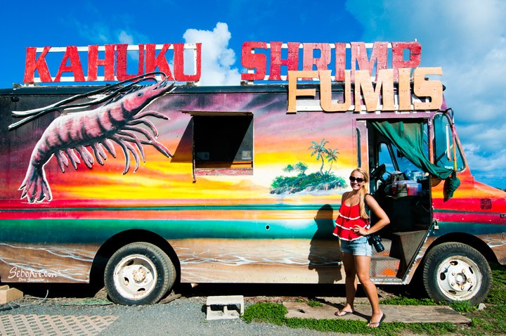 North Shore Shrimp Trucks