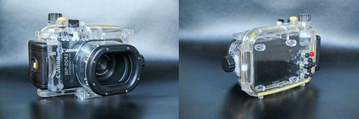 s100 Canon Camera Underwater Housing