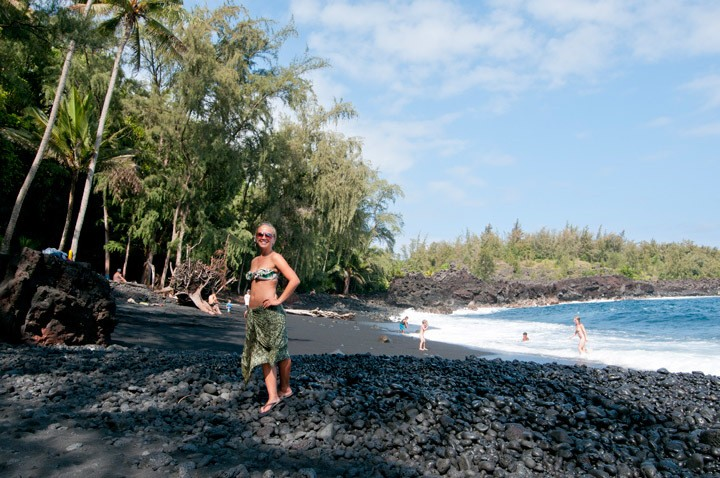 Puna Black Sand Beach