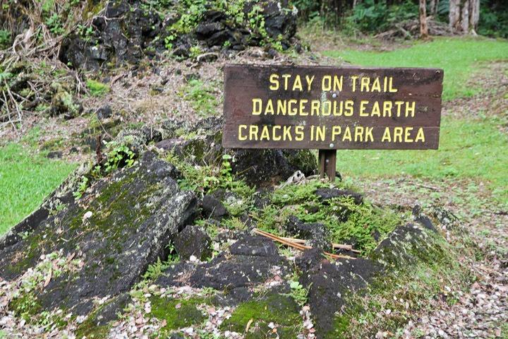 Lava Tree State Park, Puna