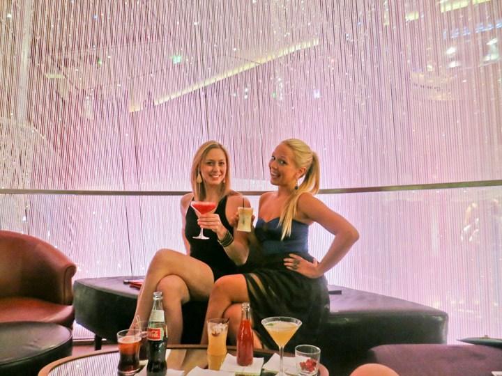 Chandelier Bar The Cosmopolitan Las Vegas