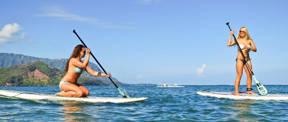 Discovering Stand Up Paddling in Kauai thumbnail