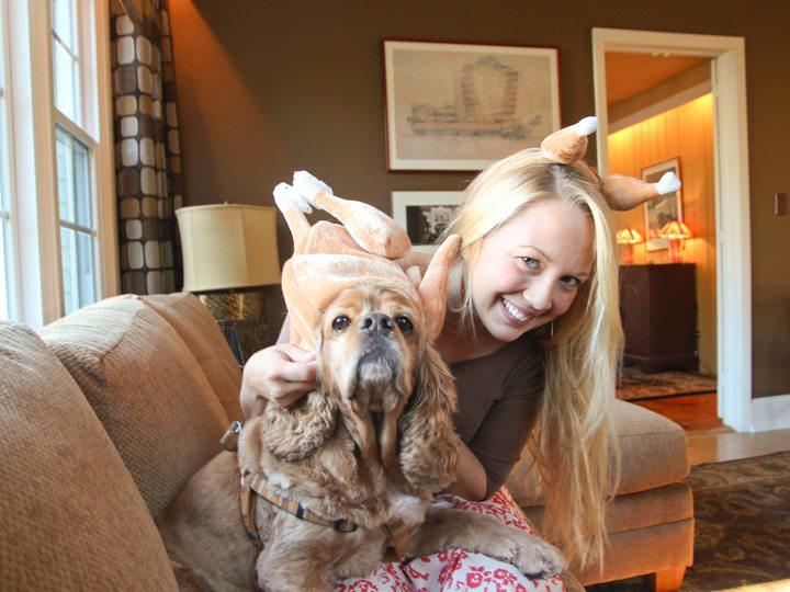 Thanksgiving Dog Costume