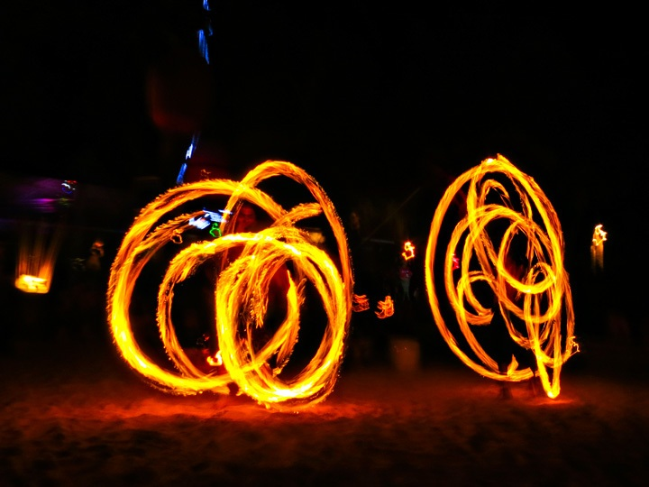 Fire Dancers Koh Tao