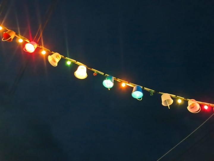 Bucket String Lights, Full Moon Party