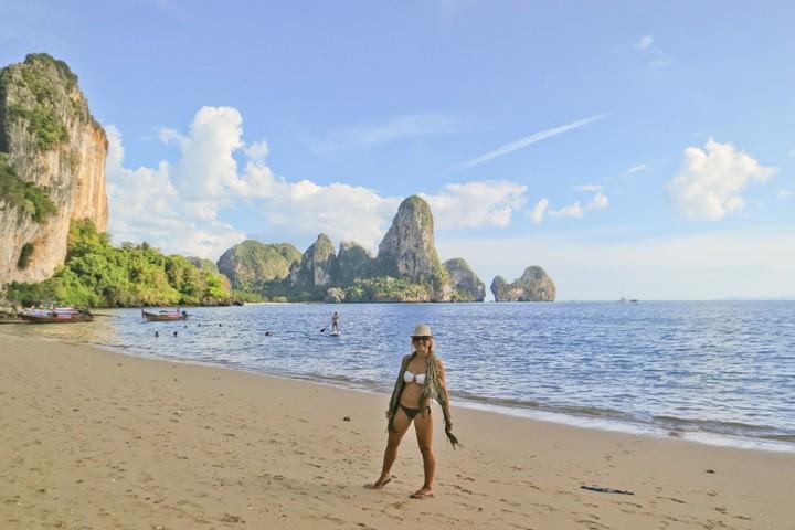 The Beach in Tonsai, Thailand