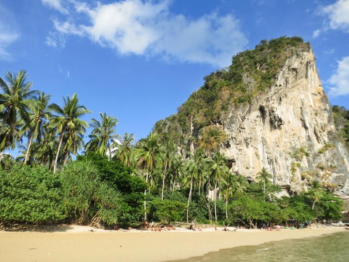 Cliffs in Railay, Thailand