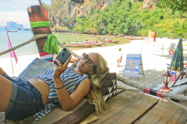 Relaxing in Tonsai, Thailand