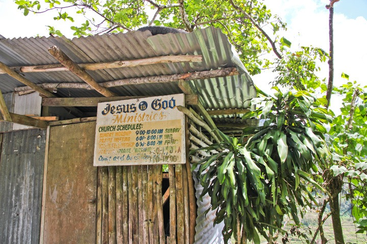 Church in Banaue, Philippines