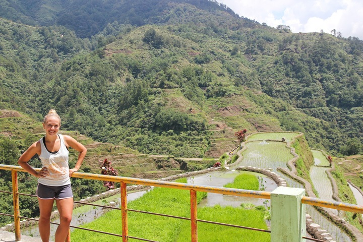 Viewpoint in Banaue, Philippines
